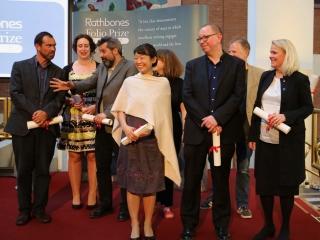 Rathbones Folio Prize shortlisted authors and representatives