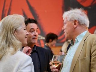 Angie O'Rourke, James Walton and John Walsh