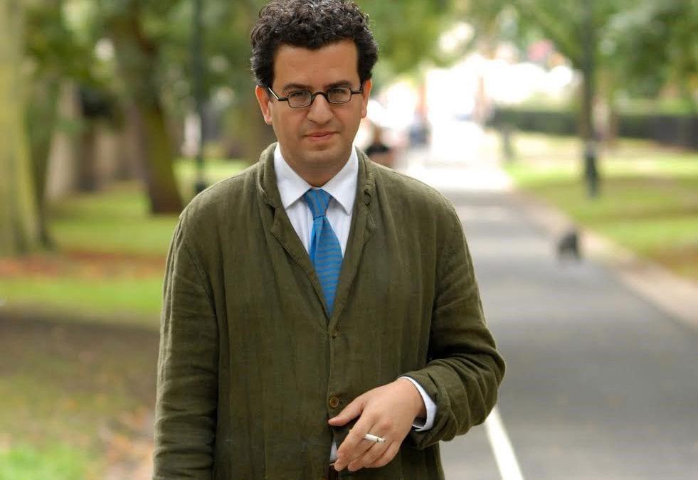 Hisham Matar, winner of the 2017 Rathbones Folio Prize