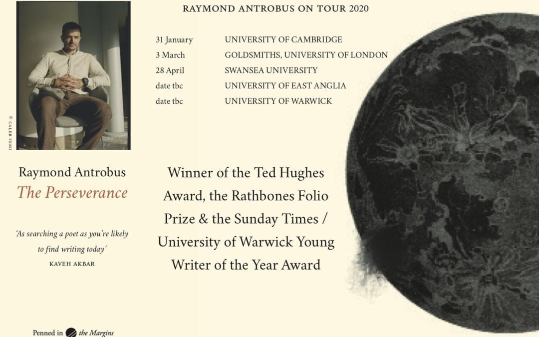 Rathbones Folio Prize Winner Raymond Antrobus' University Readings