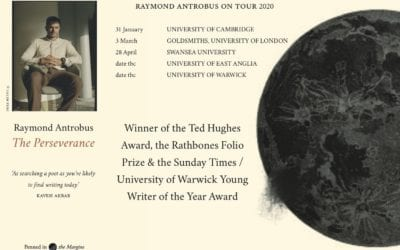 Rathbones Folio Prize Winner Raymond Antrobus' University Readings